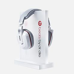 acrylic display holder for headphone