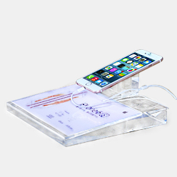 acrylic display stand holder for smartphone