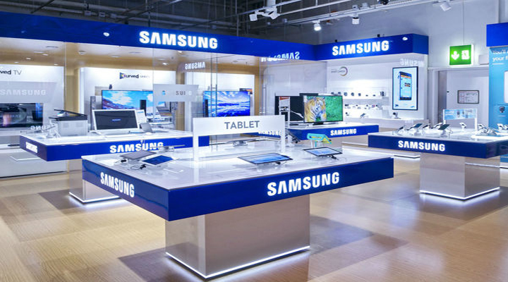 Samsung storre an apple