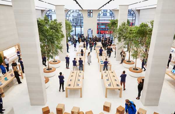 64f93fefb3 Apple Retail Store Design At Regent Street