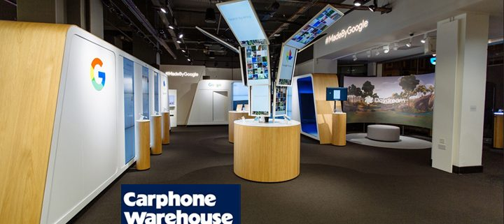 Carphone Warehouse S Google Pixel Pop Up Rechi