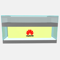 mobile phone display counter for huawei store