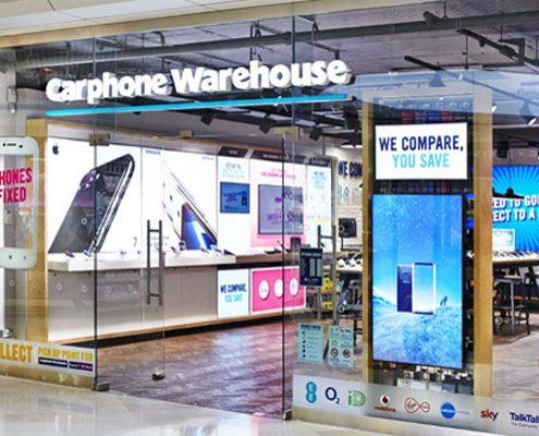 carphone warehouse electronics store