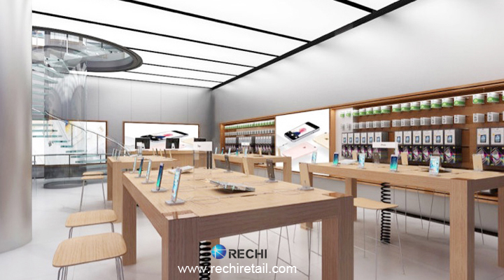 Rechi Retail Merchandising Solution For Apple Authorised Reseller Store