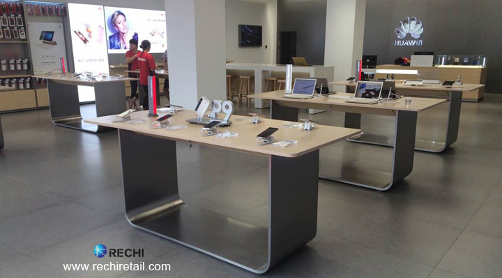 rechi retail merchandising solution for huawei experience store