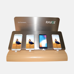 retail pop display stand for mobile phone