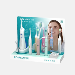 retail pop display stand for electric toothbrush