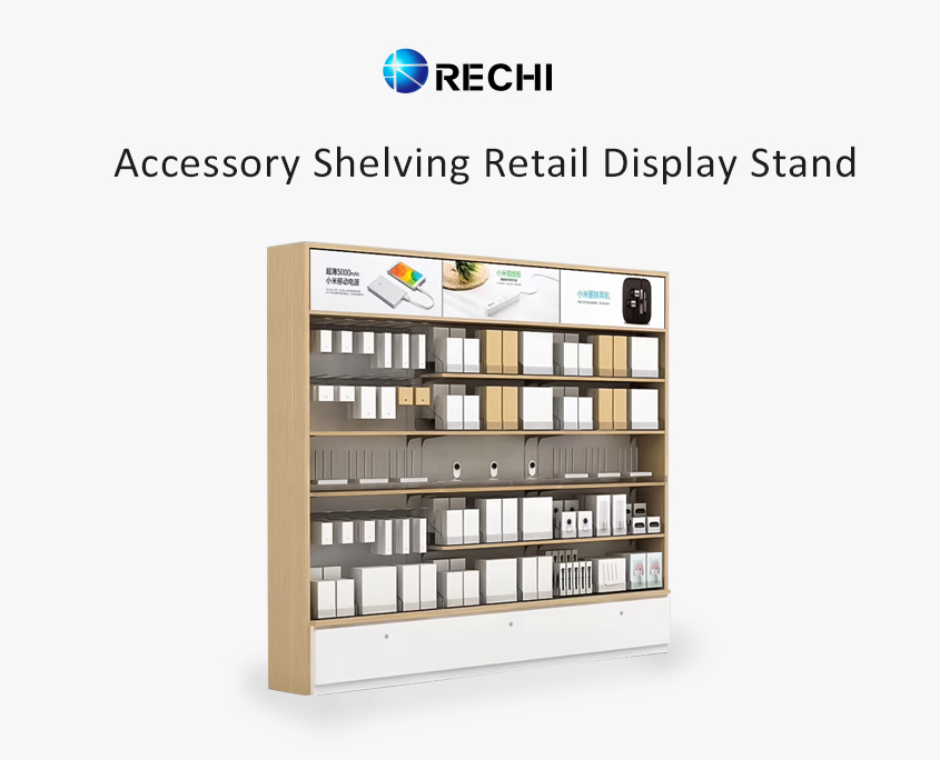 rechi shelving retail display stand for cell phone accessory