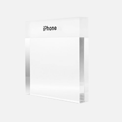 mobile phone acrylic signage holder