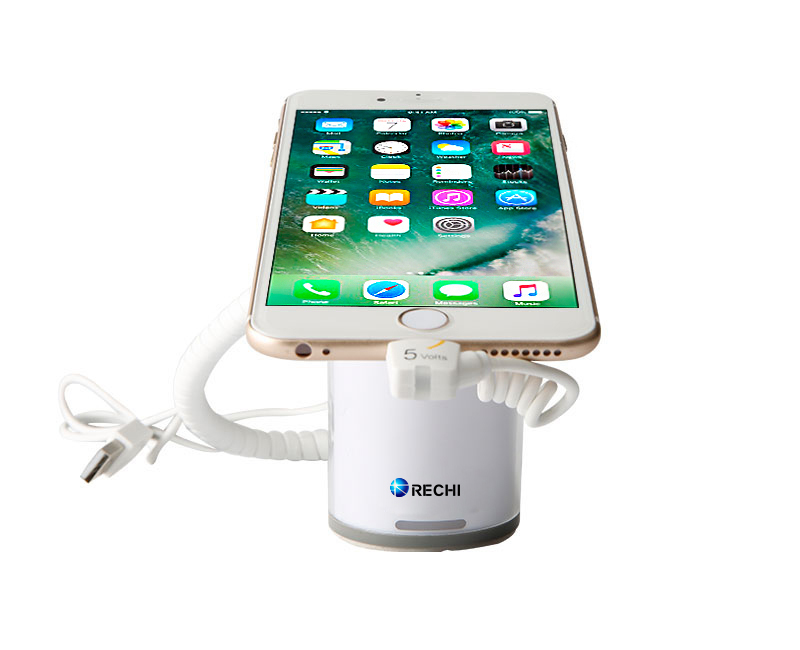 Anti-theft display stand for retail mobile store display