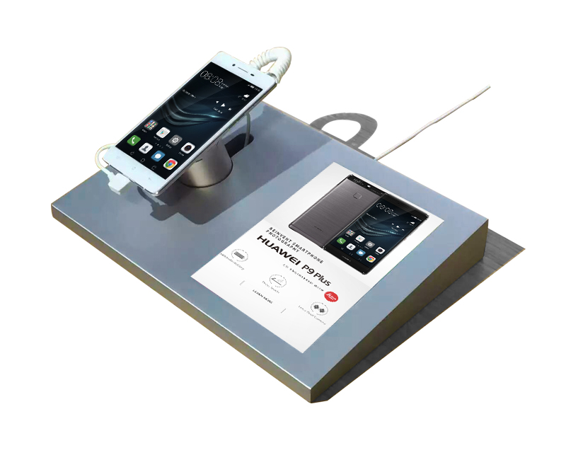 retail security alarm system with sign holder for huawei smartphone