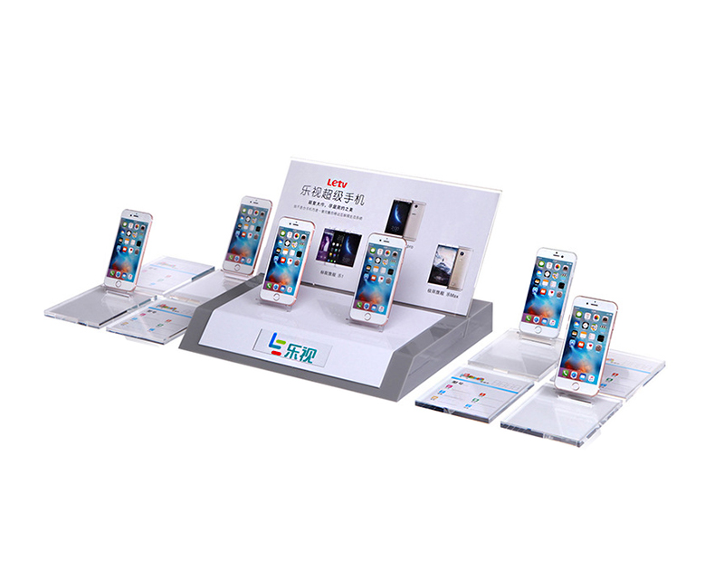 all in one acrylic smartphone display holder