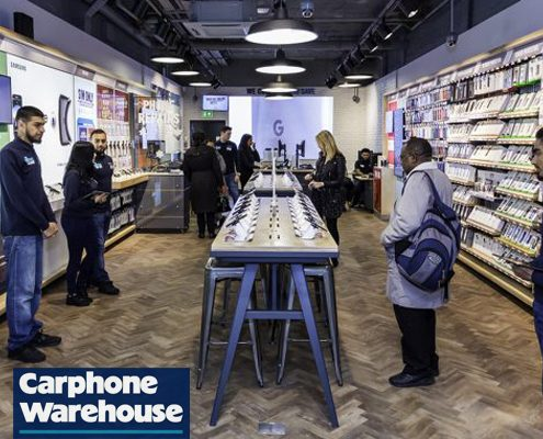 dixons carphone stratford concept store