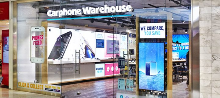 carphone warehouse electronics store