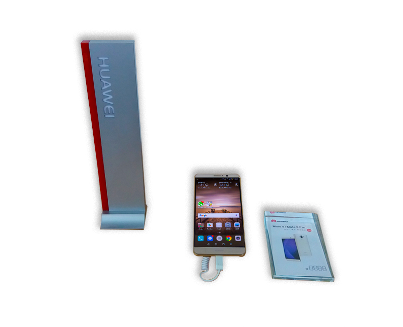 visual display security system for huawei smartphone