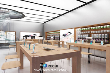 rechi retail merchandising solution for apple authorised reseller store