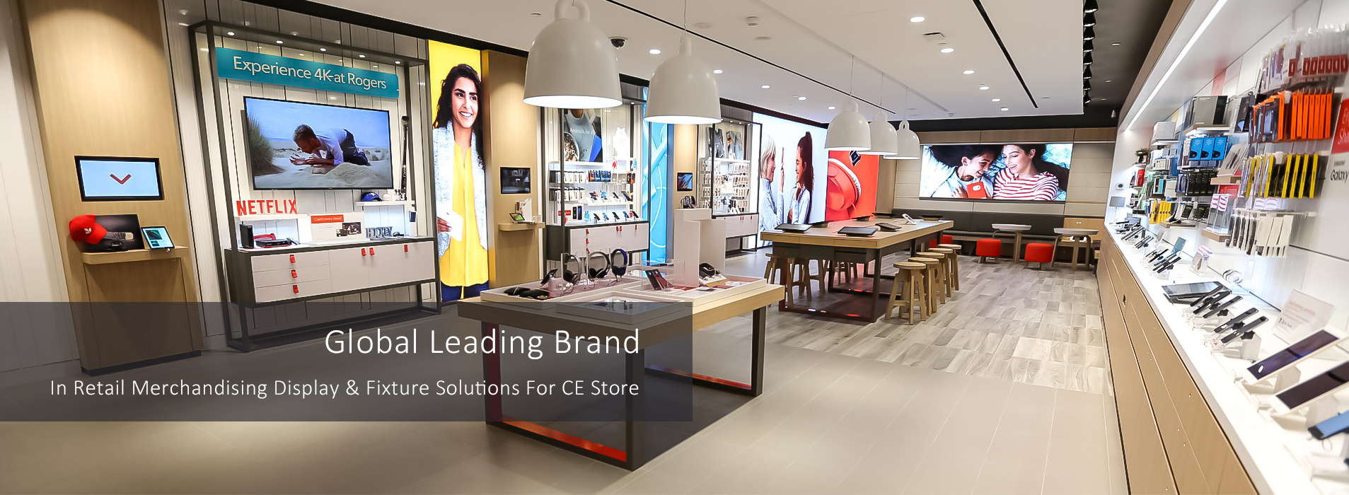 RECHI Is Global Leading Brand In Retail Merchandising Display & Fixture Solutions For Electronic Store