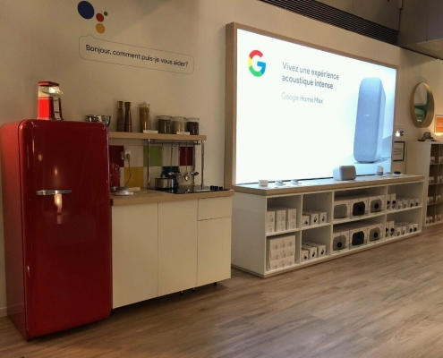 smart home experience zone design