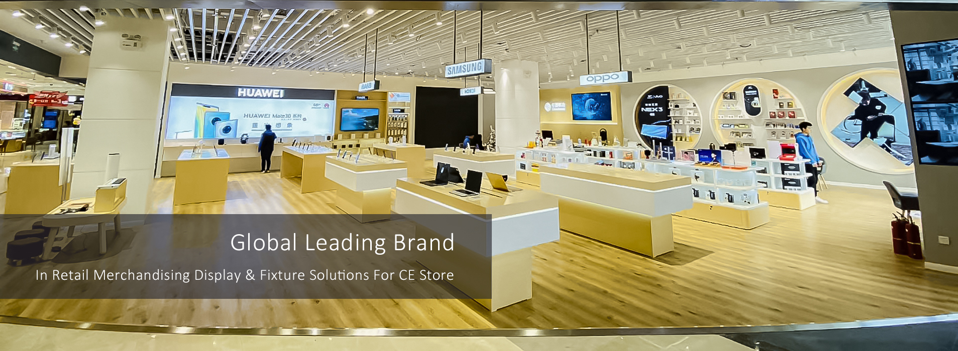 RECHI is global leading brand in retail merchandising display and fixture solution for electronic store