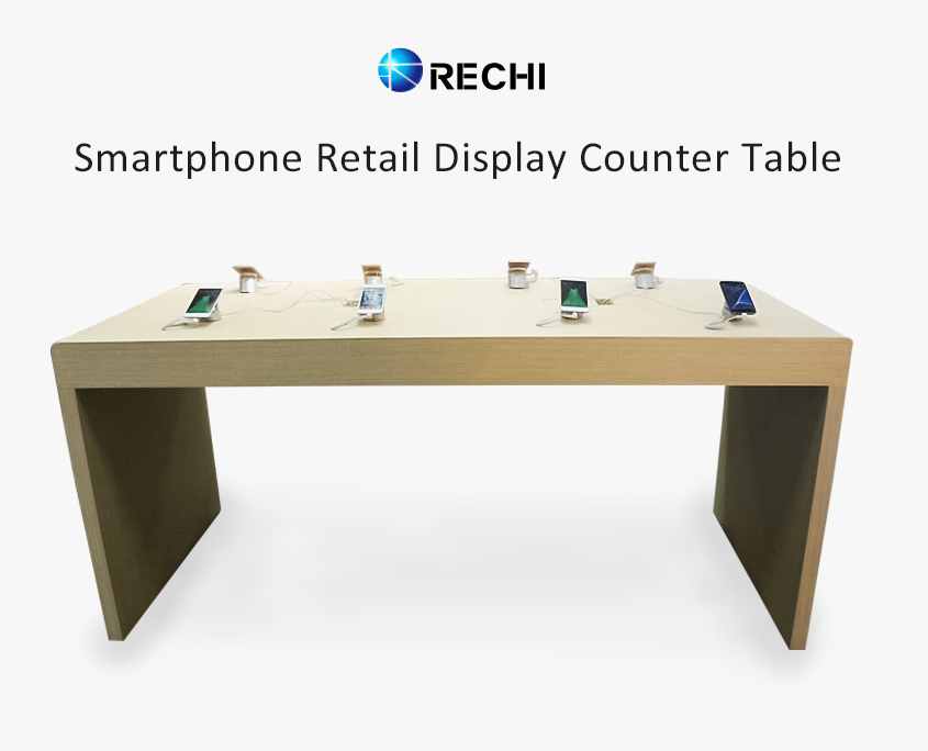 rechi retail mobile phone shop display counter table