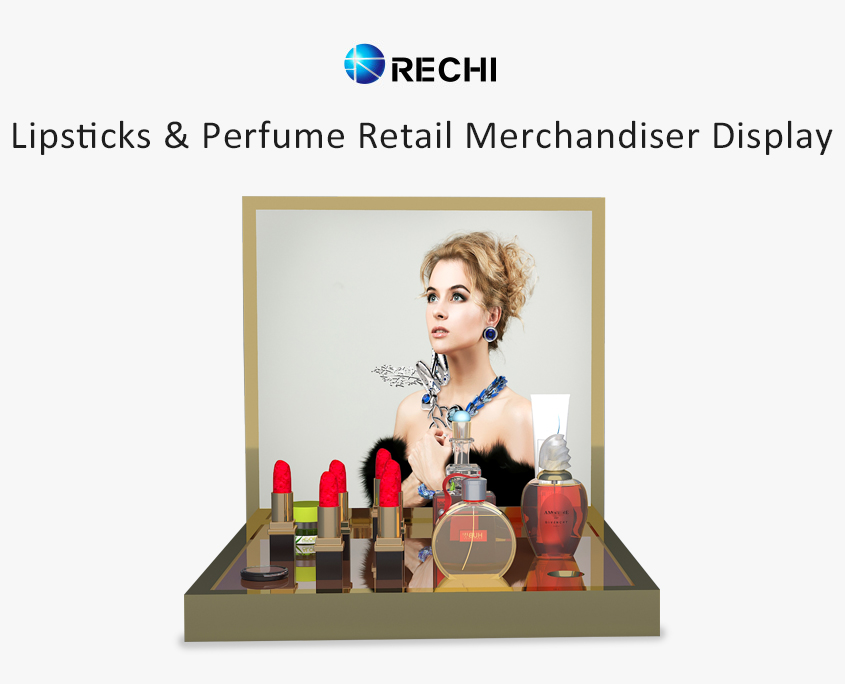 rechi countertop acrylic lipsticks pop display stand