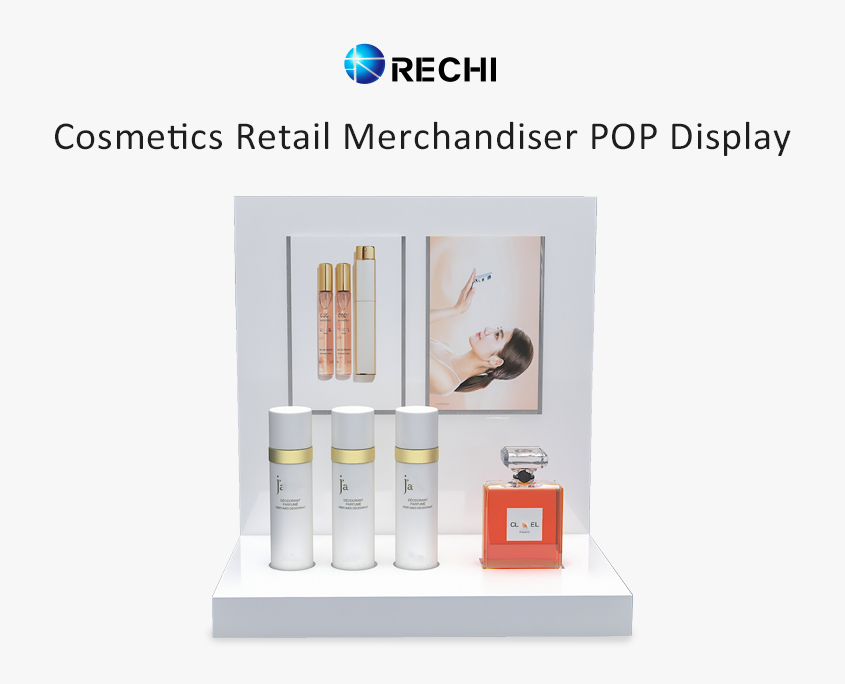 rechi countertop acrylic make up pop display stand
