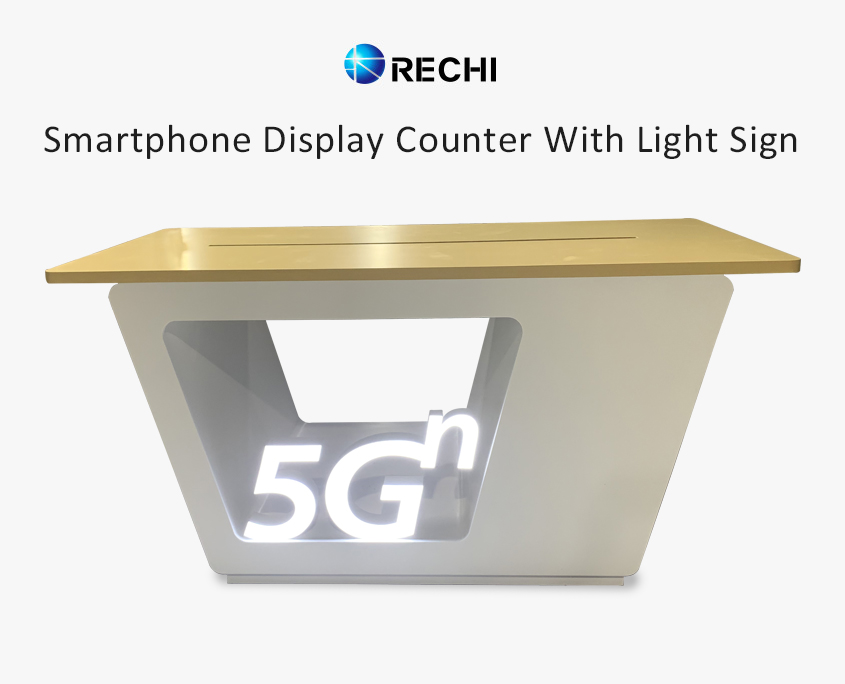 rechi retail 5g mobile phone counter table