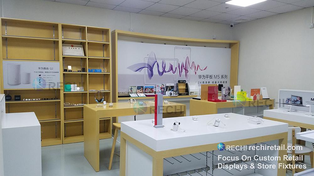 rechi mobile phone store fixture showroom