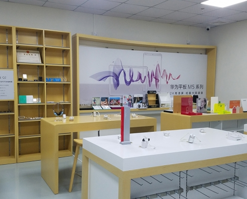 rechi retail mobile phone store fixtures and shop fittings