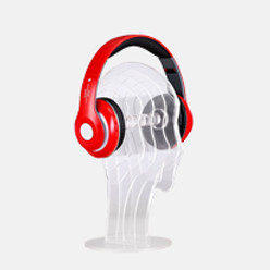 acrylic headphone display holder