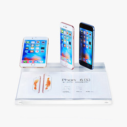 acrylic smartphone display holder