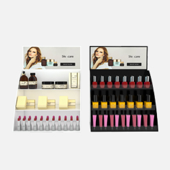 rechi retail acrylic cosmetic display stand