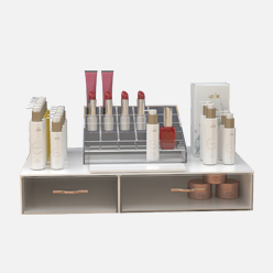 rechi retail acrylic cosmetics storage box