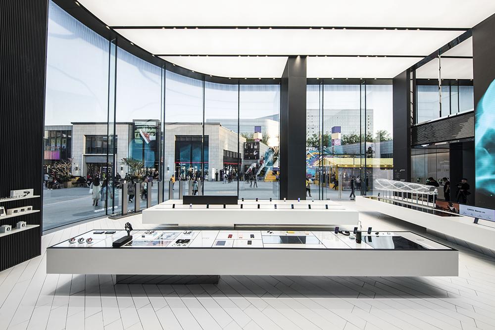 oppo flagship store in beijing