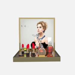 rechi countertop acrylic lipsticks pop display stand