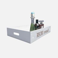 rechi countertop acrylic fragrance storage display tray