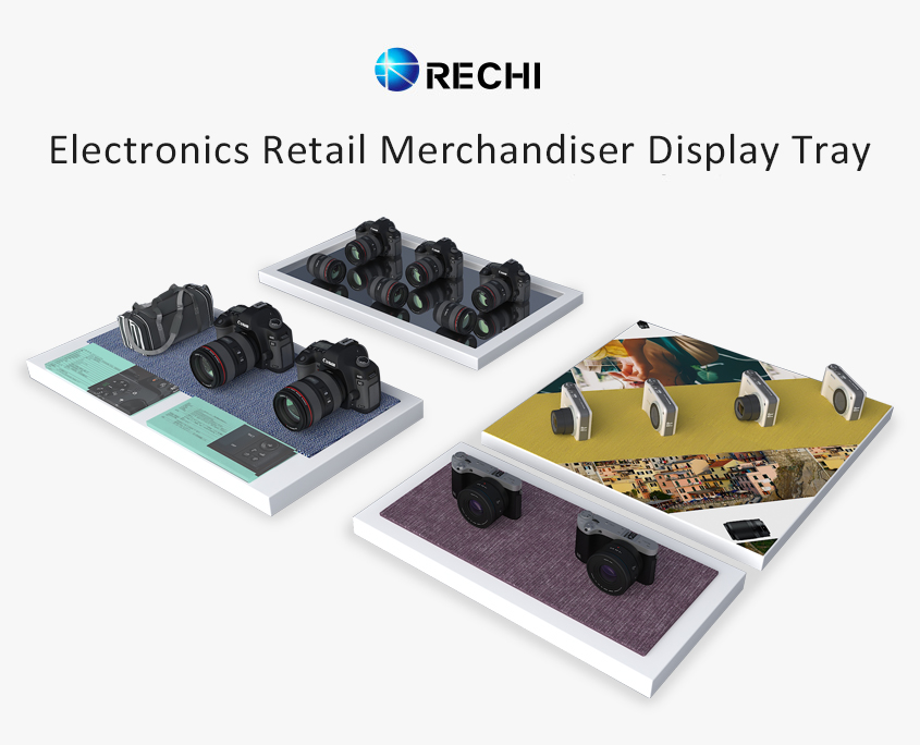 rechi countertop acrylic display tray