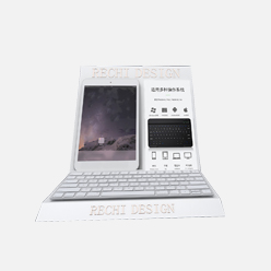rechi countertop tablet and keyboard pop display stand