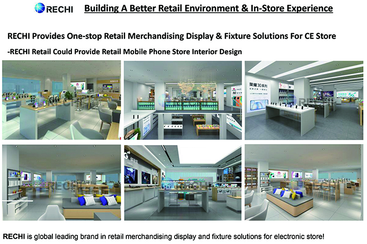 rechi mobile phone store interior design