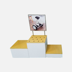 rechi floor standing pop up display stand
