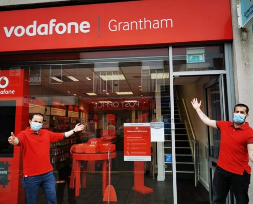 vodafone high street store