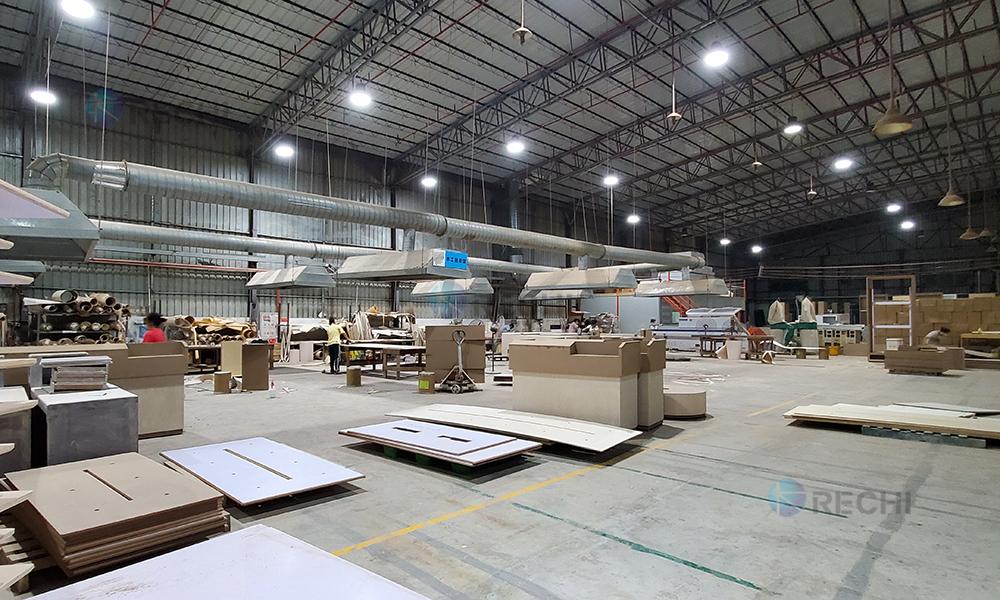 RECHI Retail Display & Store Fixture Furniture Manufacturing Factory